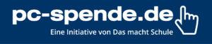 pc spende logo blau presseseite